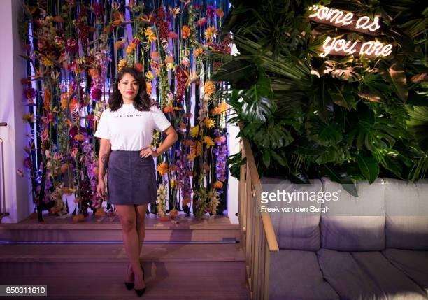 Vanessa Williams attends the launch of Kimpton De Witt Amsterdam Kimpton Hotels Restaurants' debut in Europe on September 20 2017 in Amsterdam The...