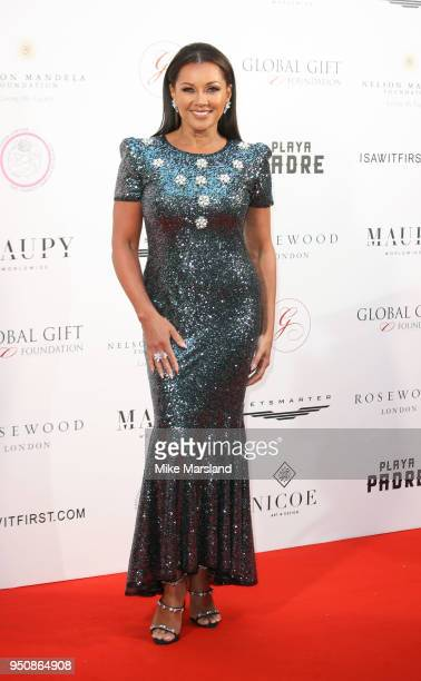 Vanessa Williams attends The Nelson Mandela Global Gift Gala at Rosewood London on April 24 2018 in London England