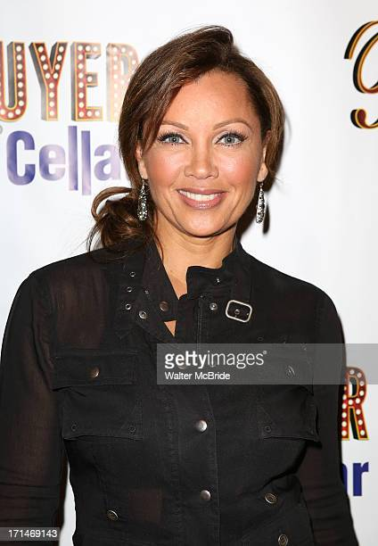 """Vanessa Williams attends the opening night for """"Buyer & Cellar"""" at the Barrow Street Theatre on June 24, 2013 in New York City."""