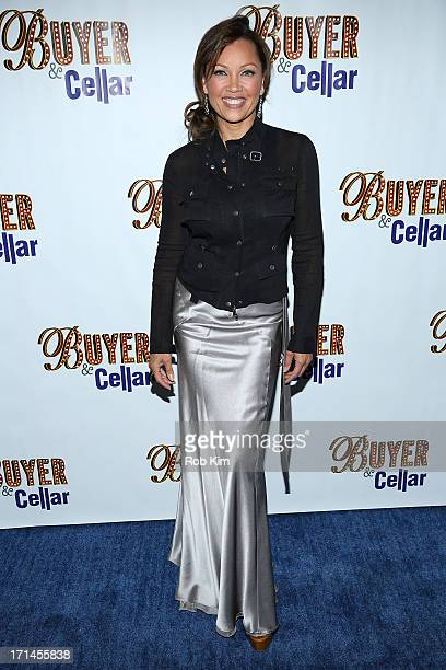 Vanessa Williams attends the opening night for Buyers Cellars at the Barrow Street Theatre on June 24 2013 in New York City