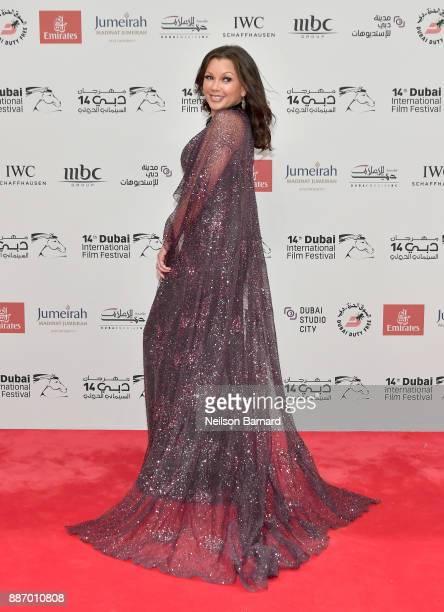 Vanessa Williams attends the Opening Night Gala of the 14th annual Dubai International Film Festival held at the Madinat Jumeriah Complex on December...