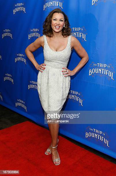 """Vanessa Williams attends the """"The Trip To Bountiful"""" Broadway Opening Night after party at Copacabana on April 23, 2013 in New York City."""