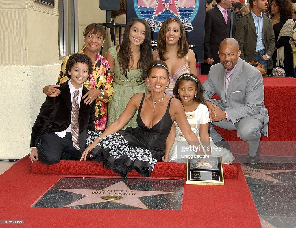Vanessa Williams Celebrates Her Birthday With a Star On The Hollywood Walk of Fame : News Photo