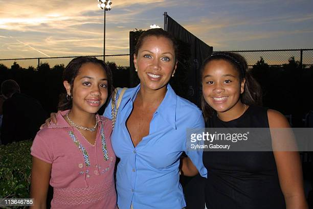 Vanessa Williams Daughters during USTA's PreParty for the US Open's Women's Finals at USTA Tennis Center in Flushing Meadows New York United States