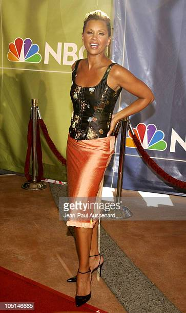 Vanessa Williams during NBC All Star Casino Night 2003 TCA Press Tour Arrivals at Renaissance Hotel Grand Ballroom in Hollywood California United...