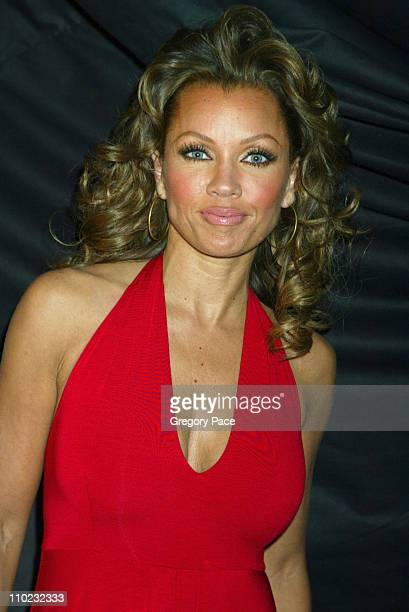 Vanessa Williams during Olympus Fashion Week Fall 2005 Heart Truth Red Dress Collection Special PostShow Meet and Greet with First Lady Laura Bush at...