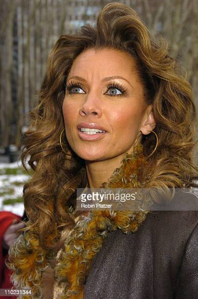 Vanessa Williams during Olympus Fashion Week Fall 2005 The Heart Truth Red Dress Collection Fashion Show Departures at Olympus Fashion Week at Bryant...
