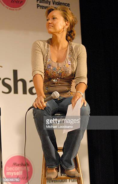 Vanessa Williams during Vanessa Williams and Willa Shalit Kick Off the Marshalls Becoming Myself Tour at Saint Jean Baptiste School in New York City...