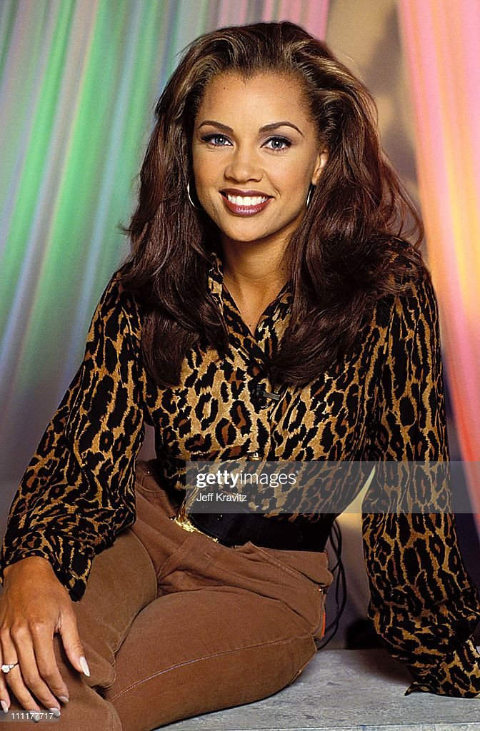 Vanessa Williams at the taping of her VH1 show