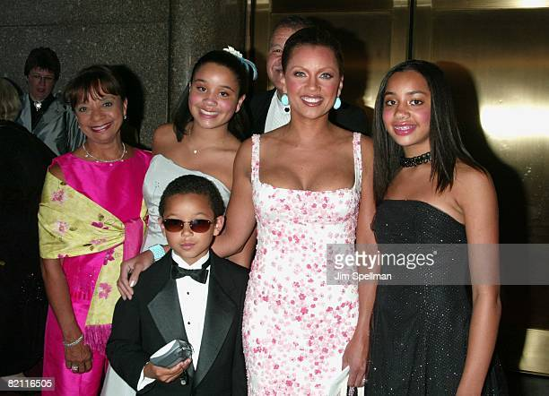 Vanessa Williams family
