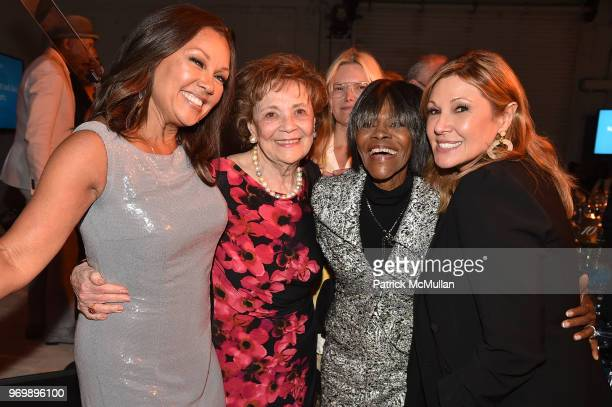 Vanessa Williams Matilda Cuomo Cicely Tyson and Maria Cuomo Cole attend the HELP USA Heroes Awards Gala at the Garage on June 4 2018 in New York City