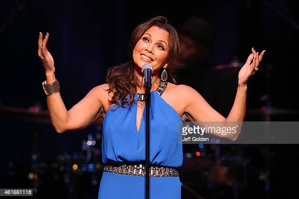 Vanessa Williams performs at Valley Performing Arts Center on January 16 2015 in Northridge California