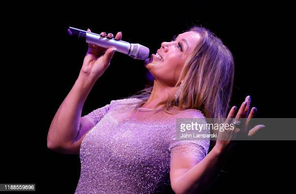 Vanessa Williams performs during the Sheen Center presents Vanessa Williams Friends thankful for Christmas with guests Norm Lewis Michael Urie and...