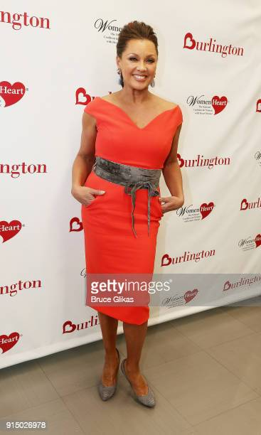 Vanessa Williams poses at The 7th Annual #KnockOutHeartDisease Campaign Launch at Burlington Union Square on February 6 2018 in New York City