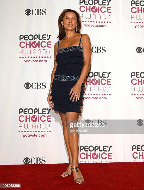 Vanessa Williams presenter during 33rd Annual People's Choice Awards Press Room at Shrine Auditorium in Los Angeles California United States