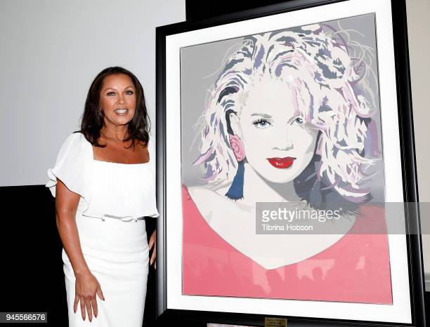 Vanessa Williams receives the 97th annual Installation and Lifetime Achievement Award at Sheraton Universal on April 12 2018 in Universal City...