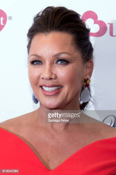 Vanessa Williams teams up with WomenHeart for the fight against heart disease in women at Burlington Union Square on February 6, 2018 in New York...