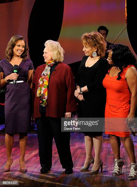 THE VIEW Vanessa Williams was a guest cohost and also did a musical performance with Barbara Cook on THE VIEW Thursday May 13 2010 airing on the Walt...