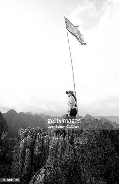 Vang Vieng, on the top of Pha Poak