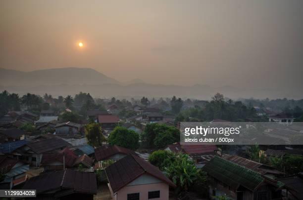 Vang Vieng Sunrise From Balloon