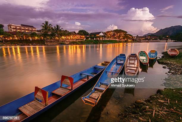 Vang Vieng Sunset