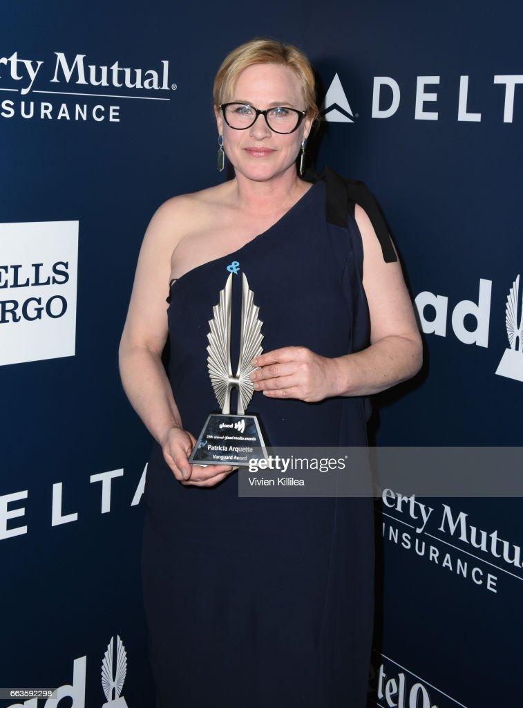 28th Annual GLAAD Media Awards in LA - Backstage : News Photo