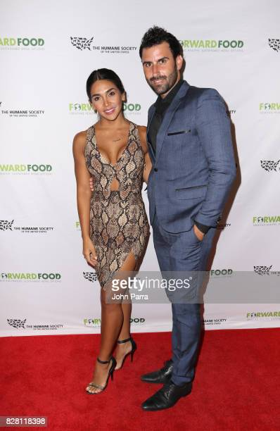 Vania Bludau and Eduardo Pastrana attend the Salud A Forward Food Culinary Celebration in collaboration with The Humane Society of the United States...