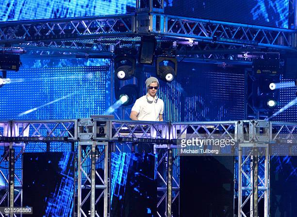 Vanic performs onstage during day 2 of the 2016 Coachella Valley Music Arts Festival Weekend 1 at the Empire Polo Club on April 16 2016 in Indio...