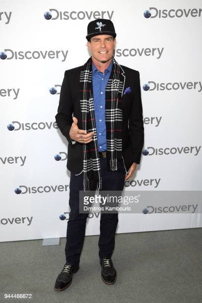 Vanilla Ice attends the Discovery Upfront 2018 at the Alice Tully Hall at Lincoln Center on April 10 2018 in New York City