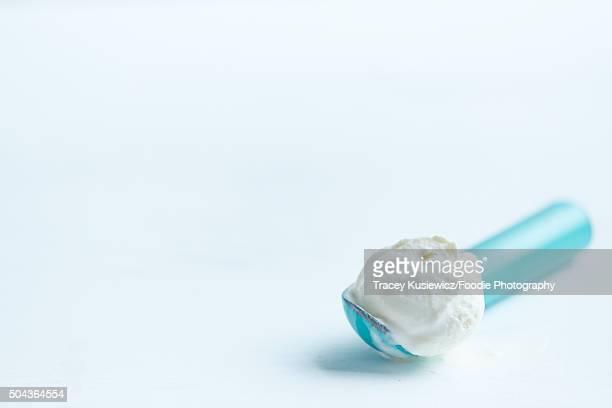 Vanilla Ice cream in scooper