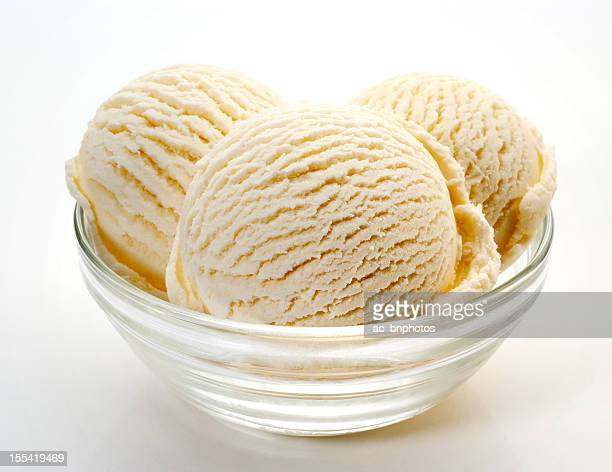 vanilla ice cream - bowl stock pictures, royalty-free photos & images
