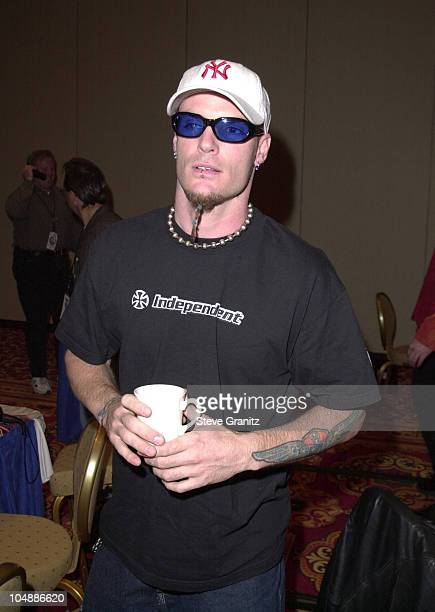 Vanilla Ice during The 2000 Radio Music Awards at The Aladdin Hotel in Las Vegas Nevada United States