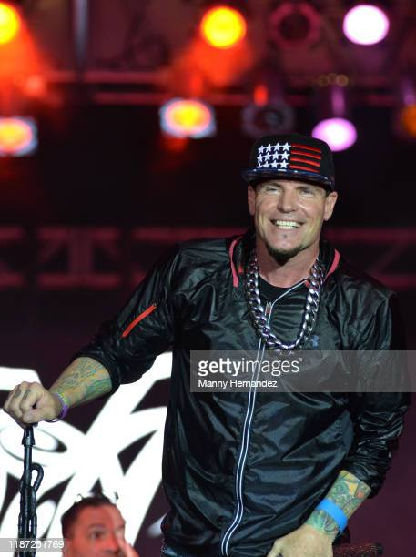 Vanilla Ice performance at Mega Beer and 90s Music Festival at Magic City Casino on November 9th 2019 in Miami FL