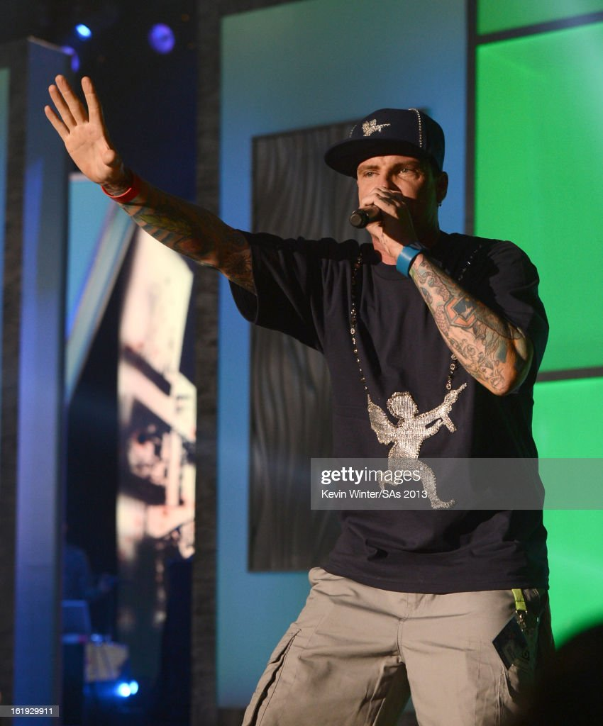 Vanilla Ice performs onstage at the 3rd Annual Streamy Awards at Hollywood Palladium on February 17, 2013 in Hollywood, California.