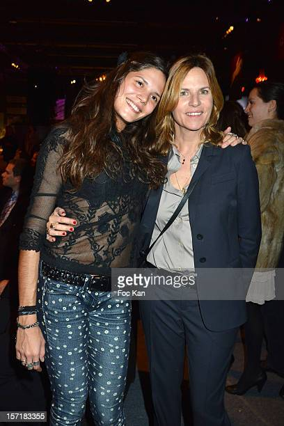 Vanille Clerc and Virginie Couperie Eiffel attend the Gucci Paris Masters 2012 opening gala at Parc Paris Nord Villepinte on November 29 2012 in...