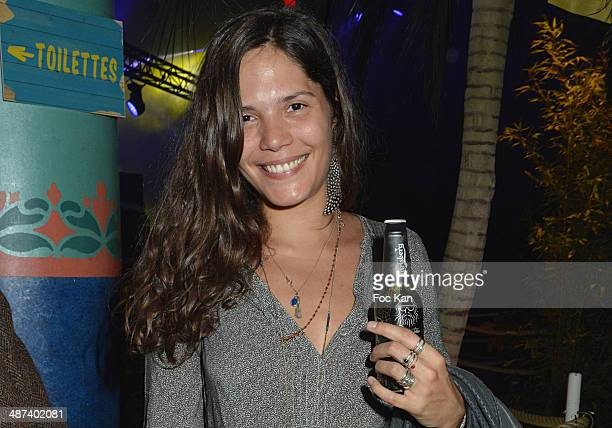 Vanille Clerc attends the Carlsberg's Suite Party At 20 rue Du Colonel Pierre Avia on April 29 2014 in Paris France