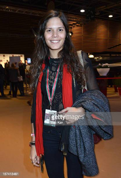 Vanille Clerc attends the Gucci Paris Masters 2012 Day 3 at Paris Nord Villepinte on December 2 2012 in Paris France