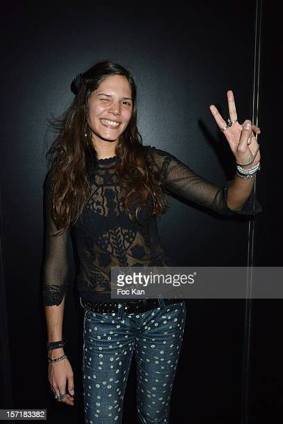 Vanille Clerc attends the Gucci Paris Masters 2012 opening gala at Parc Paris Nord Villepinte on November 29 2012 in Paris France