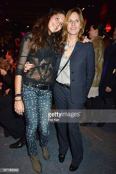 Vanille ClercÊand Virginie Couperie Eiffel attend the Gucci Paris Masters 2012 opening gala at Parc Paris Nord Villepinte on November 29 2012 in...