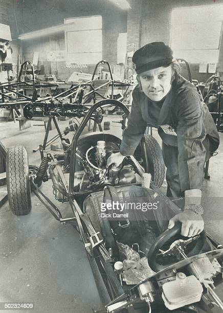 A vanishing breed Horst Kroll is one of the few builders of racing cars in Canada He calls it just an excuse to throw away money since individual...
