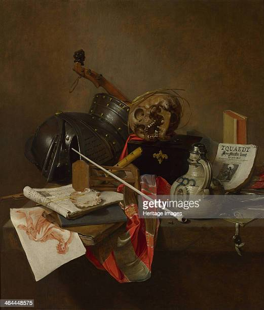 Vanitas Still Life 1648 Found in the collection of the National Gallery London