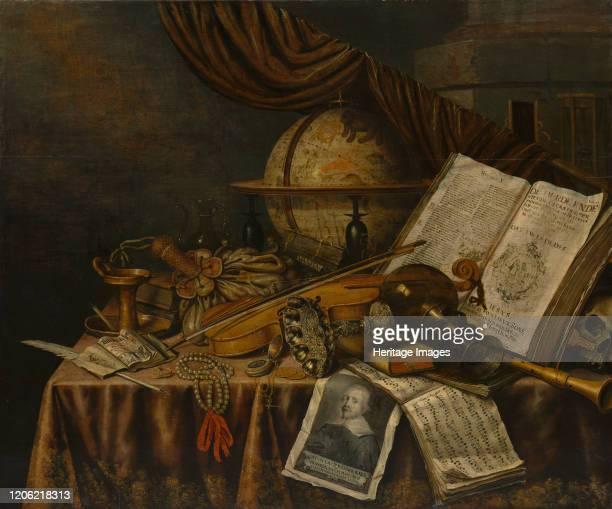 Vanitas Still Life, 1662. Artist Edwaert Collier.