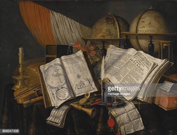 Vanitas Still Life 1662 Private Collection Artist Collier Edwaert