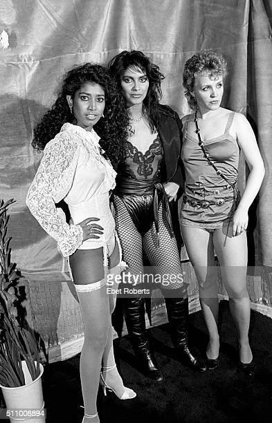 Vanity 6 at the Frankie Crocker Awards at the Savoy in New York City on January 1 1983