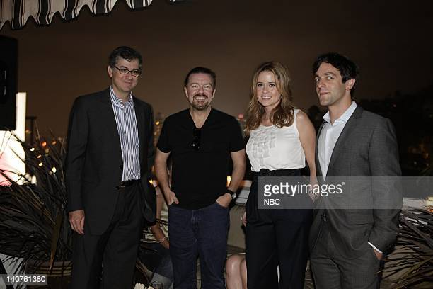 EVENTS Vanity Fair and Perry Ellis toasted NBC's The Office at an Emmy weekend celebration at the Chateau Marmont with cast producers and other...