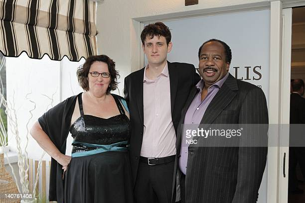 """Vanity Fair and Perry Ellis toasted NBC's """"The Office"""" at an Emmy weekend celebration at the Chateau Marmont with cast, producers and other..."""