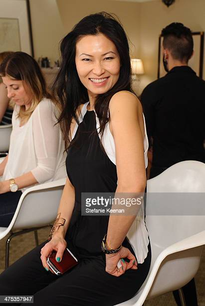 Vanity Fair Beauty Director SunHee Grinnell attends the beauty luncheon and spa day with Lancome and Clarisonic during Vanity Fair Campaign Hollywood...