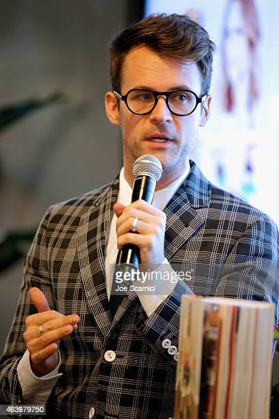 Vanity Fair Campaign Hollywood Social Club Panel Discussion Front Roe A Preview of Louise Roe's new book moderated by Brad Goreski on February 20...
