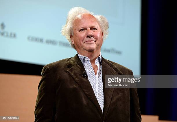 Vanity Fair EditorinChief Graydon Carter speaks onstage at the Vanity Fair New Establishment Summit at Yerba Buena Center for the Arts on October 6...