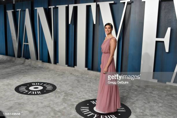 Vanity Fair Editor-in-Chief Radhika Jones attends the 2020 Vanity Fair Oscar Party hosted by Radhika Jones at Wallis Annenberg Center for the...